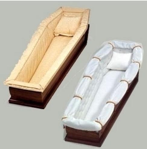 Cofani funebri imbottiti