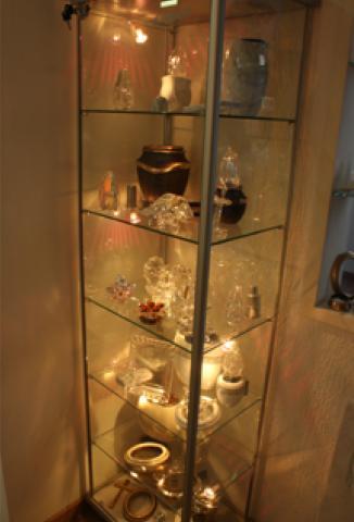 Esposizione accessori funebri